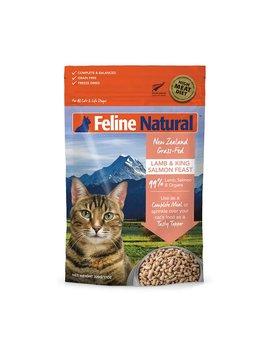 Feline Natural Lamb & King Salmon Feast Grain Free Freeze Dried Cat Food by Feline Natural
