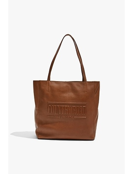 Heritage Leather Shopper by Country Road