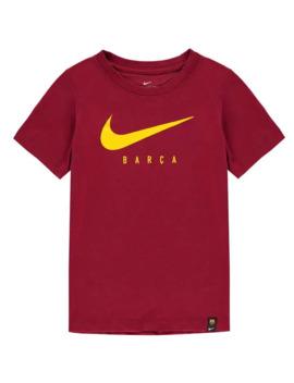 Barcelona Swoosh T Shirt 2019 2020 Junior by Nike
