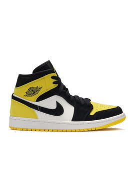 "Air Jordan 1 Mid Se ""Yellow Toe"" by Air Jordan"