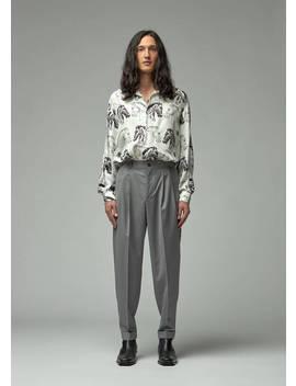 Silk Twill Dylan Shirt by Goetze