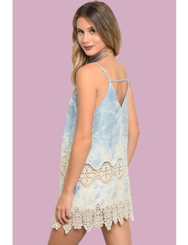Tie Dye Short Dress by People Outfitter, New York