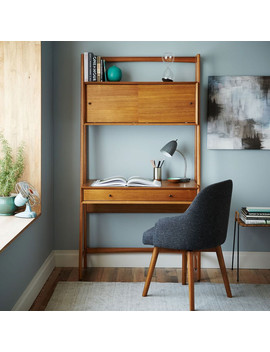 Mid Century Wall Desk by West Elm