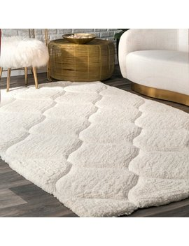 Gerold Hand Tufted Bright White Area Rug by Birch Lane