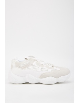 Perforated Contrast Chunky Trainers by Everything5 Pounds