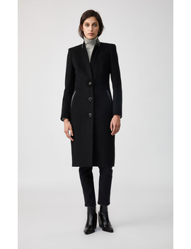 Wool Tailored Coat by Biancabianca