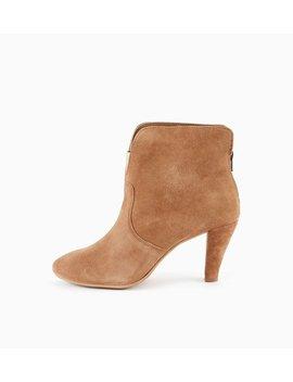 Boots En Cuir Femme by Promod