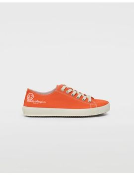 Tabi Low Top Canvas Sneakers by Maison Margiela
