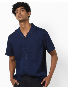 Slim Fit Shirt With Lapel Collar by Levis
