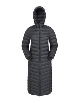 Florence Womens Extra Long Padded Jacket by Mountain Warehouse