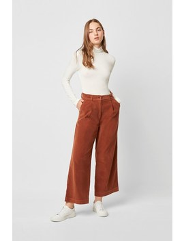 Manzu Cord Wide Leg Trousers by French Connection