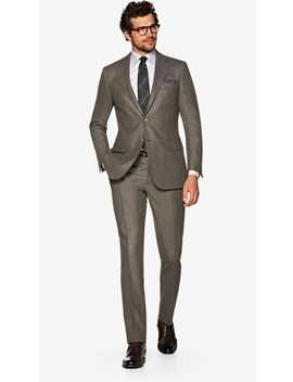 Lazio Mid Brown Suit by Suitsupply