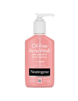 Neutrogena Oil Free Pink Grapefruit Acne Facial Cleanser6.0oz by Walgreens