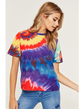 Super Soft Tie Dye T Shirt by Ardene