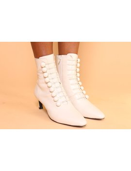 France Cream Leather by Intentionally Blank