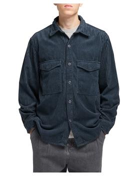 Big Shirt Ls Ebony by Edwin