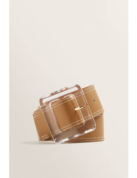 Acrylic Buckle Waist Belt by Seed Heritage
