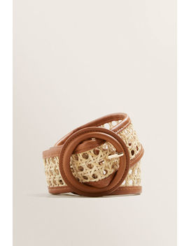 Wicker Belt by Seed Heritage