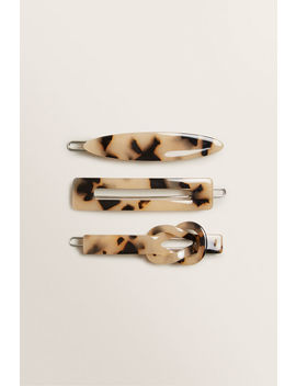 Shape Tort Hair Clips by Seed Heritage