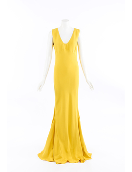 Silk Gown by Christian Dior