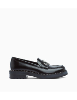Leather Loafers by Calvin Klein