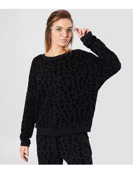 Z Supply The Animal Flocked Sweatshirt by White Crow