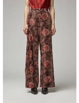 Wide Leg Trouser by Ann Demeulemeester