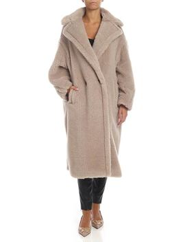 Tedgirl Coat In Dove Grey Color by Max Mara