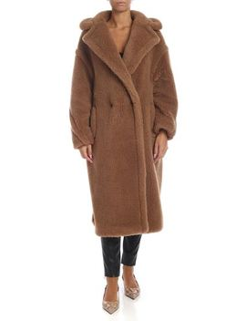 3 Teddy Coat In Brown by Max Mara