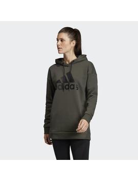 Must Haves Badge Of Sport Logo Hoodie by Adidas