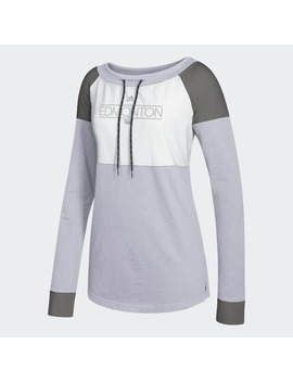 Oilers French Terry Sweatshirt by Adidas