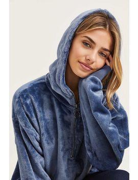 Oversized Faux Fur Hoodie by Ardene