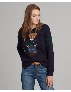 Polo Bear Wool Blend Jumper by Ralph Lauren