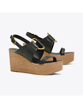 Ravello Platform Wedge by Tory Burch