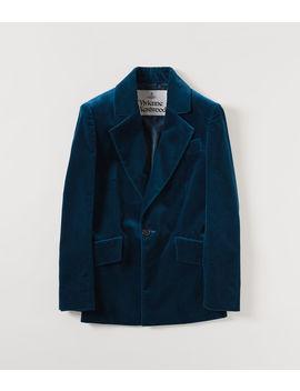 Lou Lou Jacket Cobalt  by Vivienne Westwood
