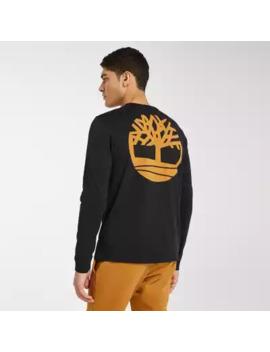 Men's Long Sleeve Back Tree Logo T Shirt by Timberland
