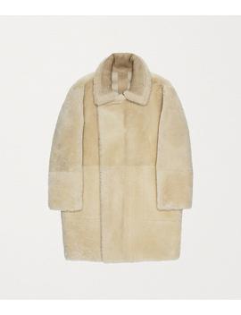 Coat In Shearling by Bottega Veneta
