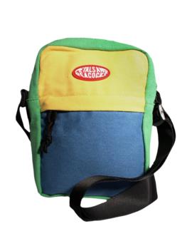 Color Block Shoulder Bag by Petals And Peacocks