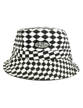 Warped Bucket Hat by Petals And Peacocks