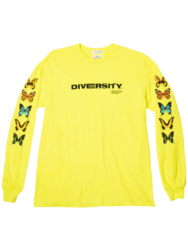 Diversity Longsleeve by Petals And Peacocks