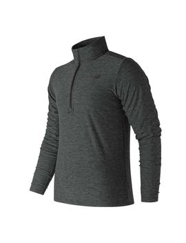 Heather Zip Top Mens by New Balance