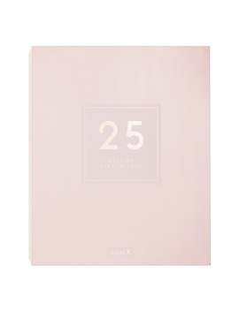 Stationery Lovers Advent Calendar Luxe Soft Pink: Christmas 2019 by Kikki.K