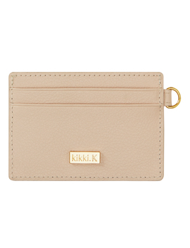 Leather Cardholder Almond: Signature Edition by Kikki.K