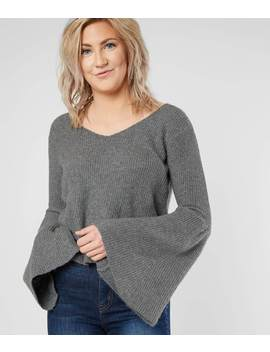 Bell Sleeve Sweater by Daytrip