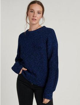 Marl Crew Neck Pullover by Lucky Brand