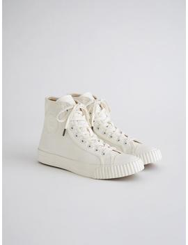Alex Mill Finds: Bata Heritage High Top In White by Alex Mill