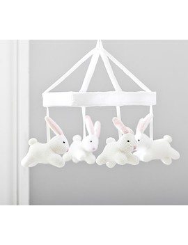 Bunny Knit Musical Crib Mobile by Pottery Barn Kids