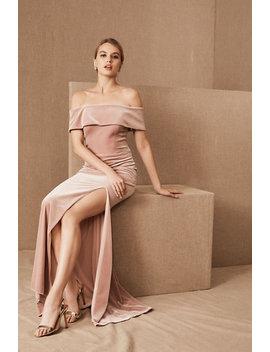 Bhldn Fawn Velvet Dress by Bhldn