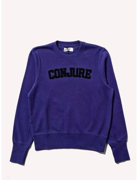 Conjure Varsity Sweatshirt by Wales Bonner