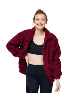 Teddy Jacket by Yoga Outlet